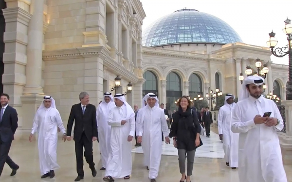 Visit of H.E. Prime Minister With the Italian Prime Minister at Al Hazm