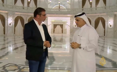 Interview with Mr. Mohamed Al Emadi CEO of Al Hazm at Al Jazeera