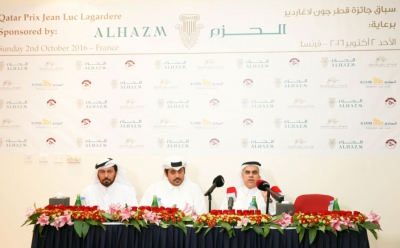 Al Hazm continue as sponsor of Prix Jean-Luc Lagardere